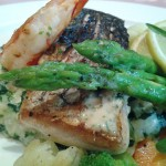 Barracuda FilletPan Fried with Palawan Tiger Prawn